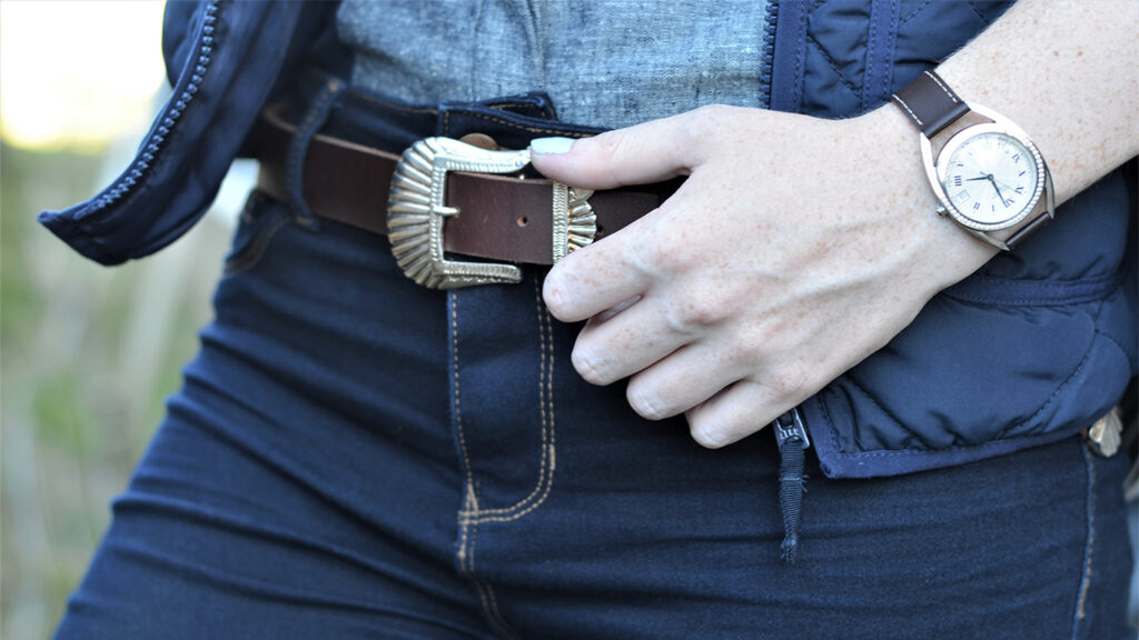 Equestrian Apparel - Fall Outfit Inspiration - Wrangler Belt