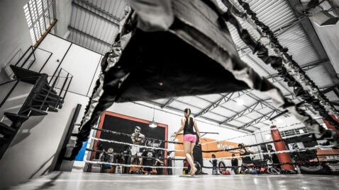 Kettlebell Kickboxing Workout