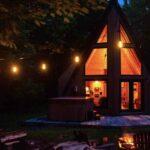 Cozy Wentworth A Frame Cabin