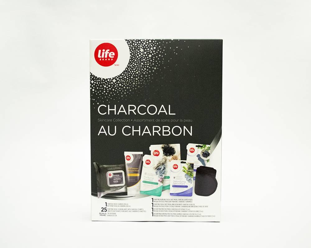 Life Brand Charcoal Skincare Collection