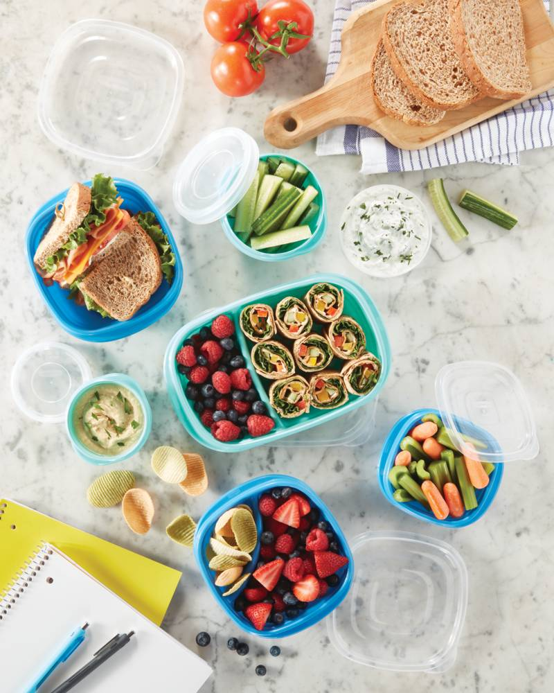 New Year's Organization Has Never Been Easier With These New Meal Prep Containers From Rubbermaid