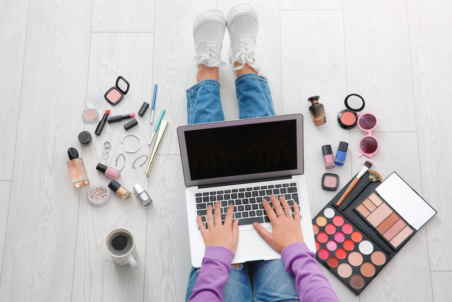 7 WFH Beauty Hacks That Will Refresh Your Zoom Look In A Snap