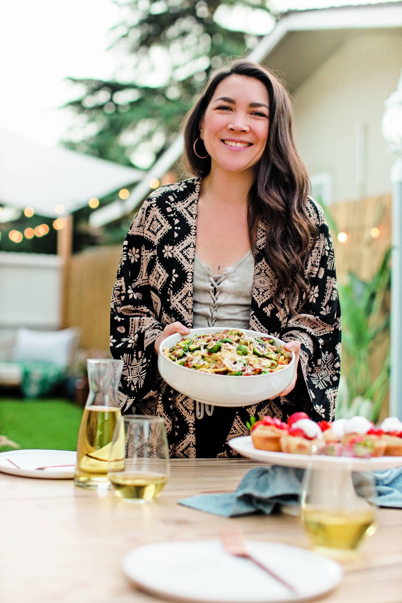 Talk Veganism And Eat Pasta With Lauren Toyota, Queen Of Hot For Food