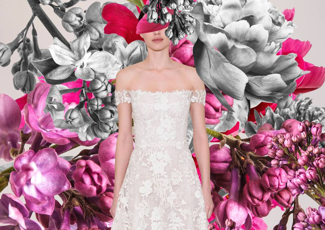 The Flowers At Bridal Fashion Week Showed Optimism For Spring 2022 – These Were Our Favourite Looks