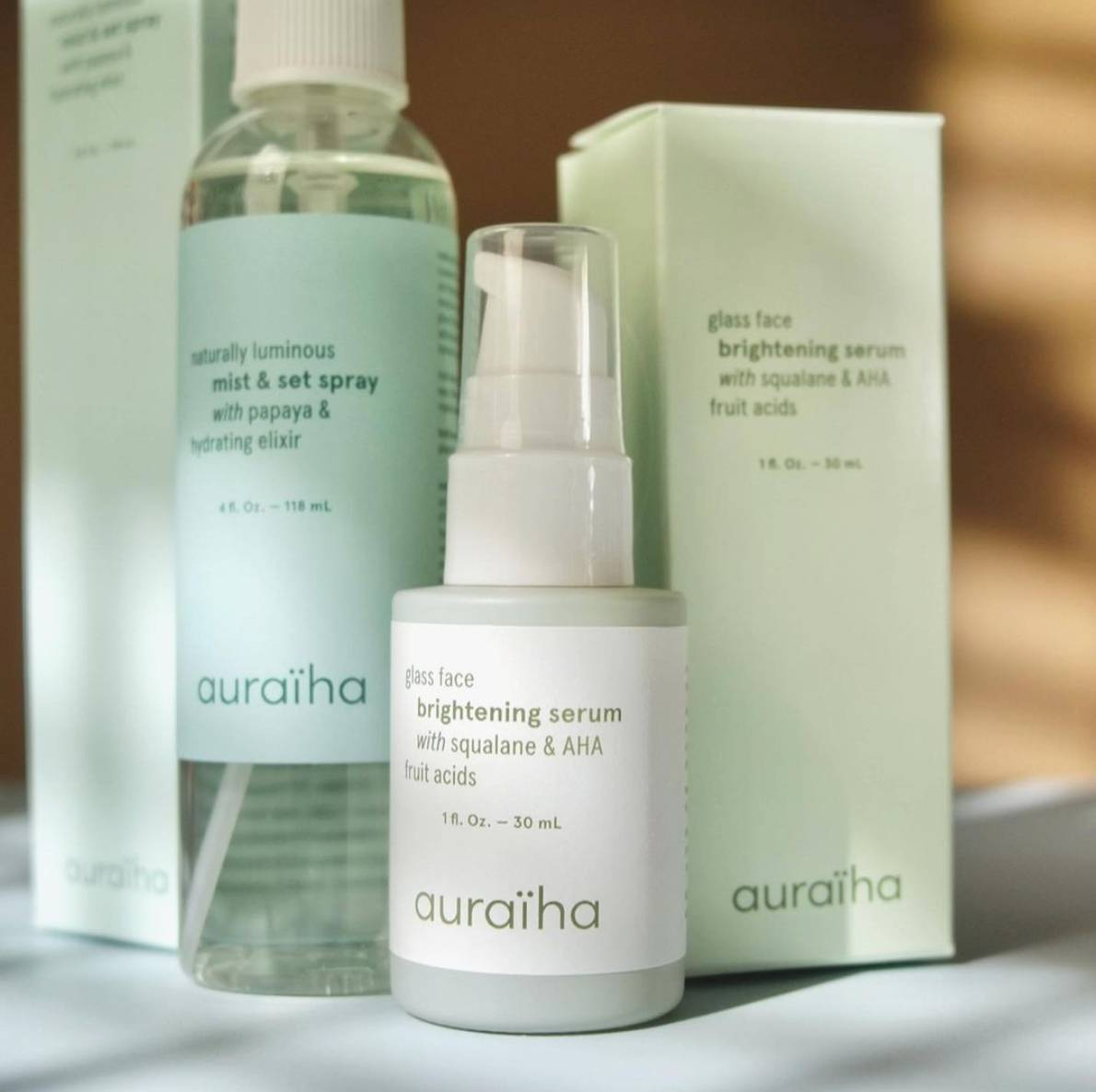#BeautyFind: Auraïha Glass Face & Naturally Luminous Bundle