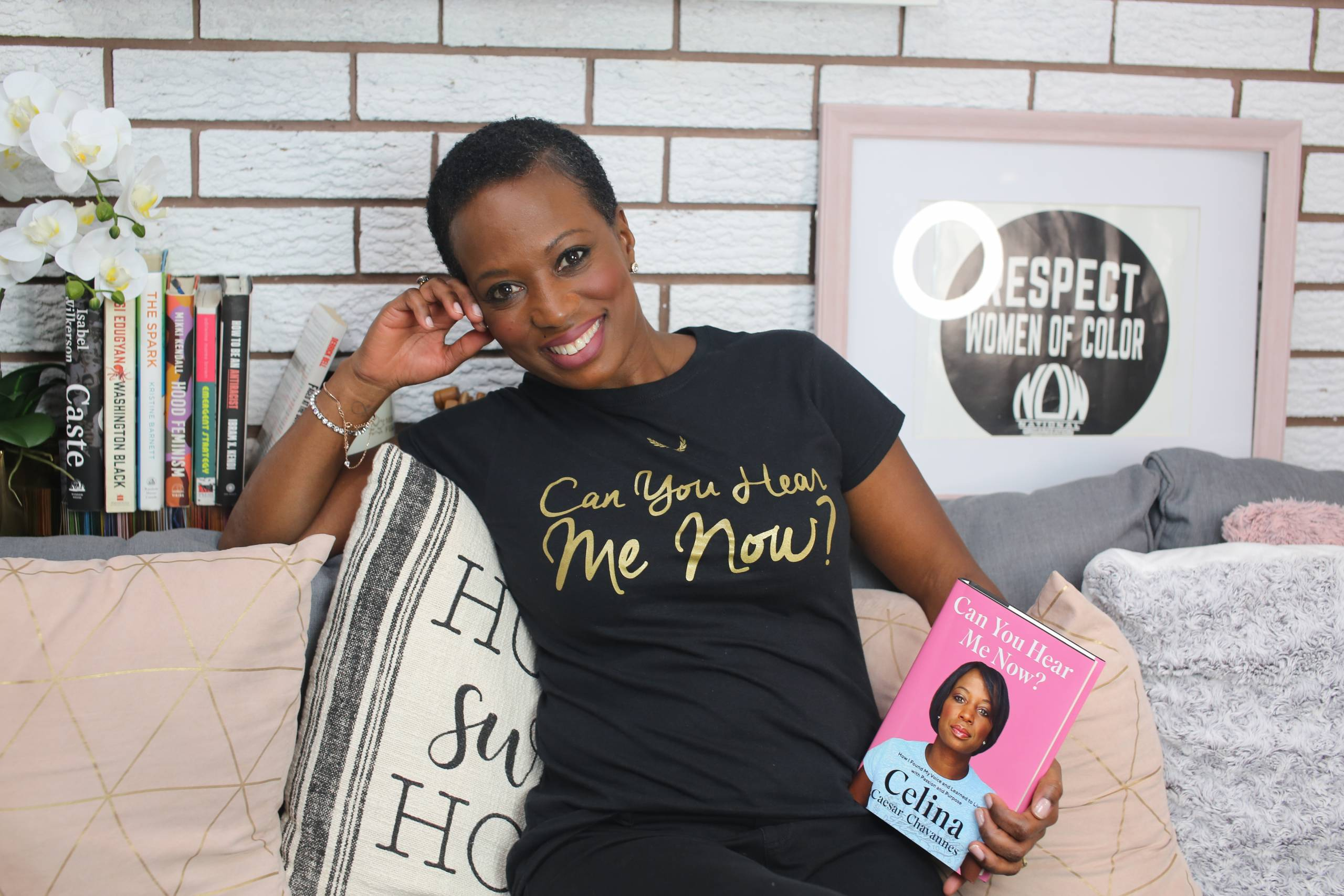 Celina Caesar-Chavannes On What It Really Means To Have A Seat At The Table