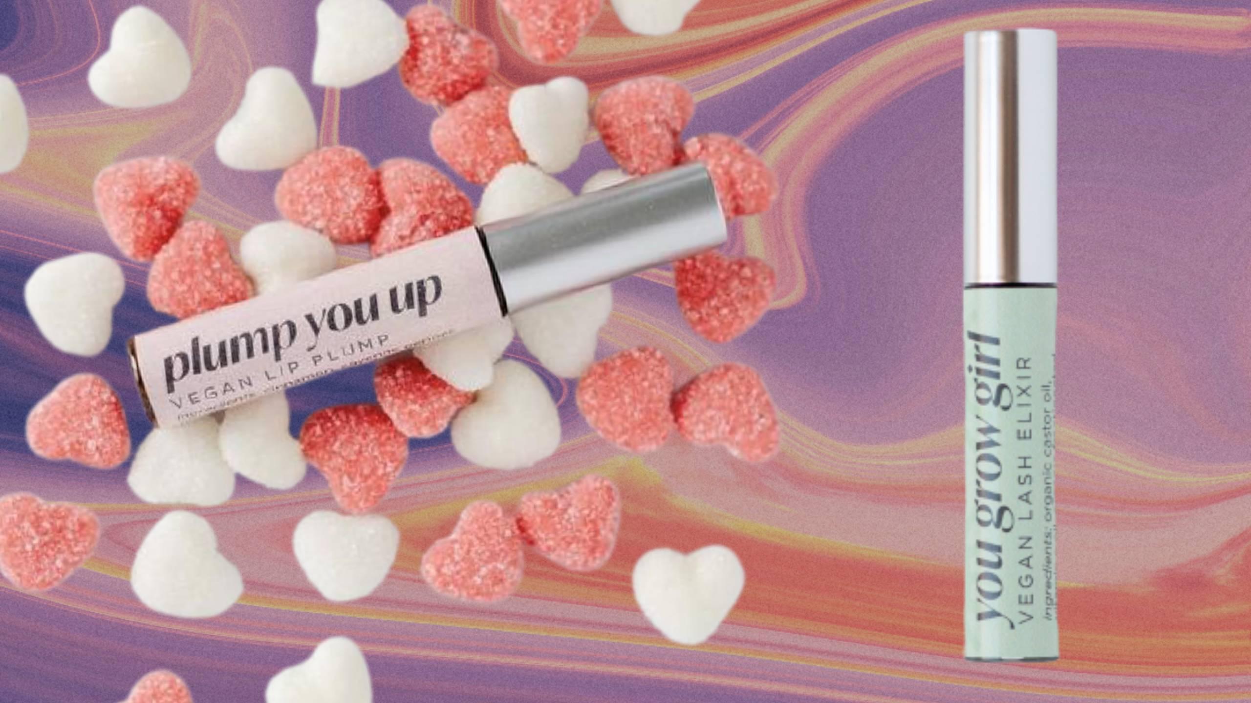 #BeautyFind: Lip Service Beauty Vegan Lip Plump + Lash Elixir Duo